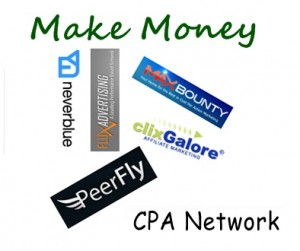 Make money using CPA Networks