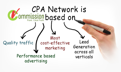 cpa is commission Based Make Money Online Using CPA Network