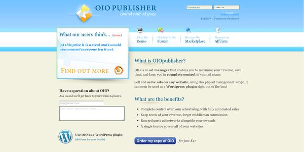 oiopublisher How to Make Money Online from Blogging without Using Google Adsense
