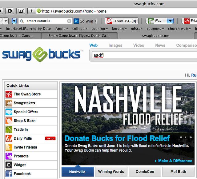 Swagbucks make money online