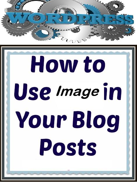 how to use image in your blog posts