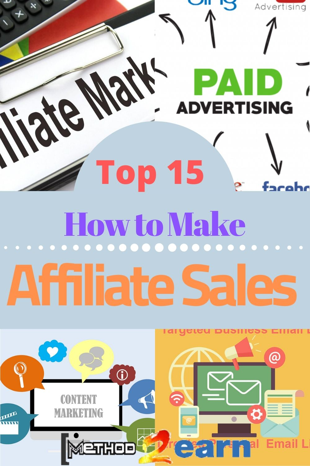 How to Make Affiliate Sales